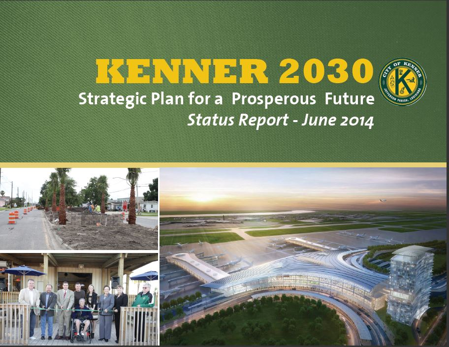 Click here to view the latest updates on the Kenner 2030 plan and its wonderful initiatives!